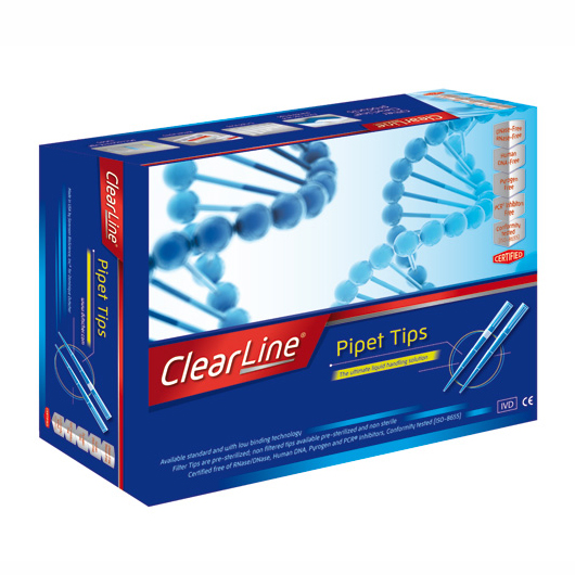 FILTER TIPS CLEARLINE
